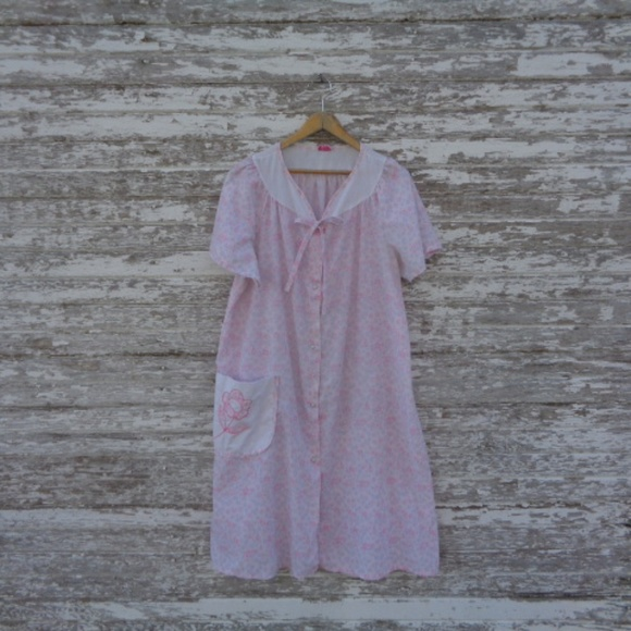 Dresses & Skirts - [Regal rose] Vintage Night Gown